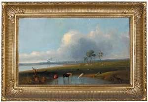 Sandridge from the Lagoon by HENRY BURN
