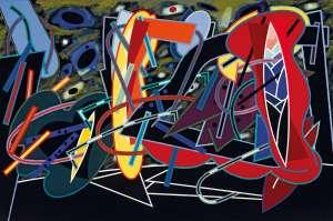 The Artist's Studio by ALUN LEACH-JONES