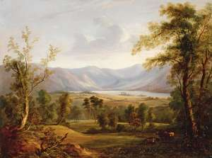 View over the Derwent by Attributed to JOHN GLOVER