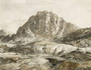 Flinders Ranges, South Australia by HANS HEYSEN