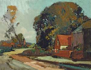 Old Cottage, Westerham by SYDNEY LONG