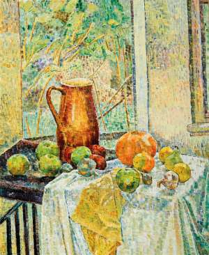 Jug with Fruit in the Window by GRACE COSSINGTON SMITH