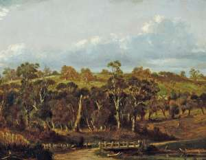 Australian Pastoral by LOUIS BUVELOT