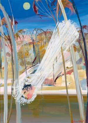 Bride over the River by ARTHUR BOYD