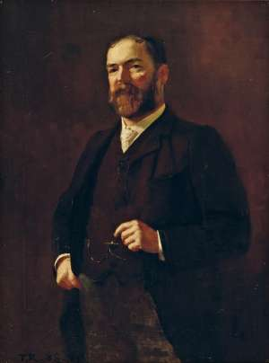Portrait of C. S. Paterson by TOM ROBERTS