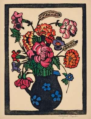 Flowers in Jug by MARGARET PRESTON