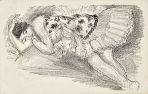 Danseuse Endormie au Divan, from Dix Danseuses by HENRI MATISSE