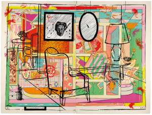 Interior with Built-in Bar by HOWARD ARKLEY and JUAN DAVILA