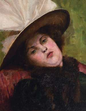 Portrait of Clara by A.M.E. BALE