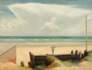 Boy on the Beach by RICK AMOR