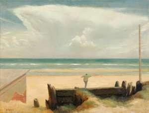 Boy on the Beach by RICK AMOR