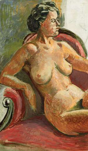 Studio Nude by ROLAND WAKELIN