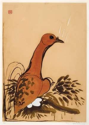 The Dove by BRETT WHITELEY