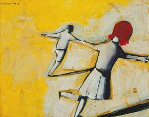 Children Playing by CHARLES BLACKMAN