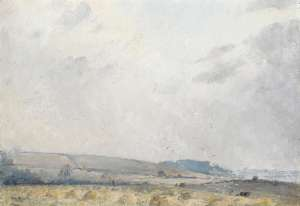 A Windy Day, Dorset by TOM ROBERTS