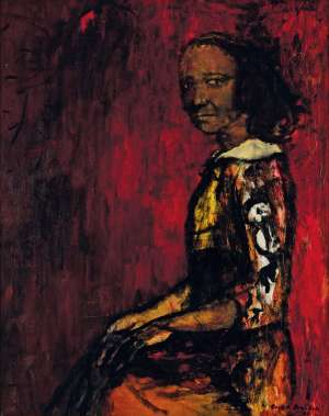 Half-caste Woman (also known as Portrait) by RUSSELL DRYSDALE