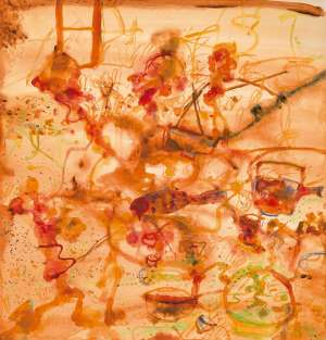 The Chinese Restaurant by JOHN OLSEN