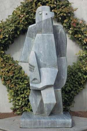Homme Assis à la Clarinette II by JACQUES LIPCHITZ
