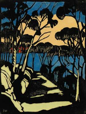 Harbour Foreshore by MARGARET PRESTON image