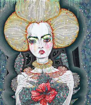 Satellite Fade-Out 7 by DEL KATHRYN BARTON image