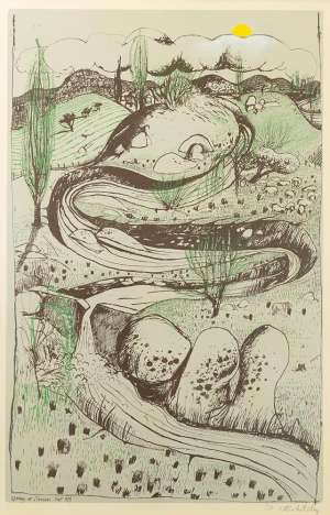 98. Brett Whiteley Spring at Oberon image