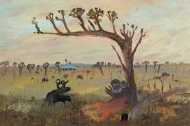 Lovers and Ram by ARTHUR BOYD
