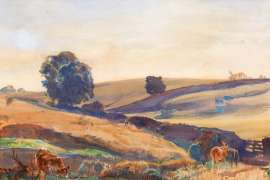 Morning near Ambleside by HANS HEYSEN