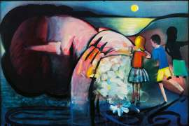 Sleeping Figure by CHARLES BLACKMAN