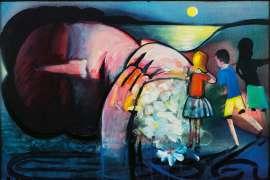 Sleeping Figure by CHARLES BLACKMAN