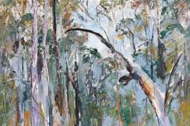 Figure in the Bush II by ARTHUR BOYD