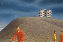 Near Pisa by JEFFREY SMART