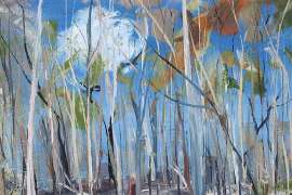Shoalhaven, Figure in the Forest by ARTHUR BOYD