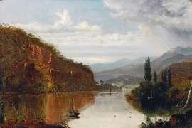 Lake Scene, Tasmania by HAUGHTON FORREST