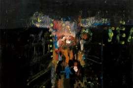 St Kilda by Night by CHARLES BLACKMAN