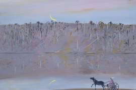 Jinker on the Sandbank, Shoalhaven by ARTHUR BOYD