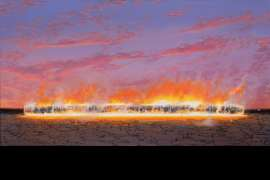 Evening Blaze by TIM STORRIER