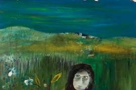 Untitled (Mrs. Reardon & Child) by SIDNEY NOLAN