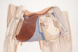 Surveyor's Saddle III by TIM STORRIER
