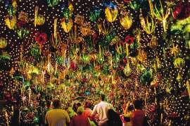 Santa's Kingdom Christmas Tunnel, Fox Studios, Sydney by ANNE ZAHALKA