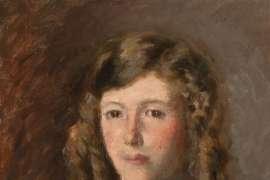 Portrait of Patricia Millward by RUPERT BUNNY