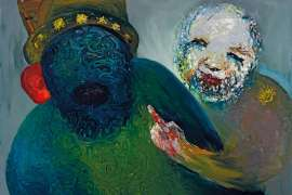 Othello Listening by ARTHUR BOYD