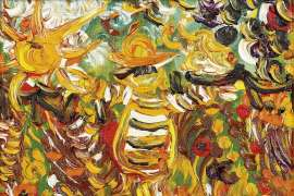 Scarecrow in Market Garden by JOHN PERCEVAL