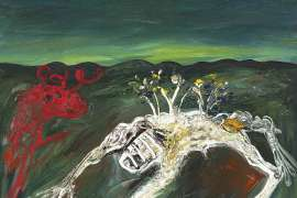 Nebuchadnezzar and Red Ram by ARTHUR BOYD