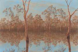 Late Afternoon at Barmah by LIN ONUS