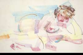 Nude with Cake by SAM FULLBROOK
