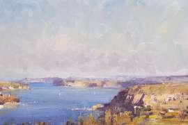 Autumn Afternoon, Middle Harbour by KEN KNIGHT