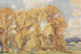 In the Cotswolds by HANS HEYSEN