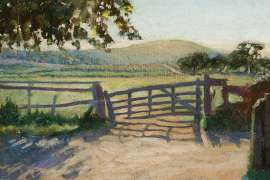 The Old Gate, near Brighton, England by VIDA LAHEY