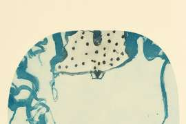 Frog Surprised by JOHN OLSEN