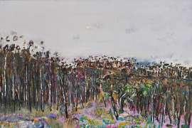 Yellow Gorse, Yan Yean by FRED WILLIAMS